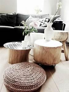 Baumstamm Tisch Wohnzimmer My Blog