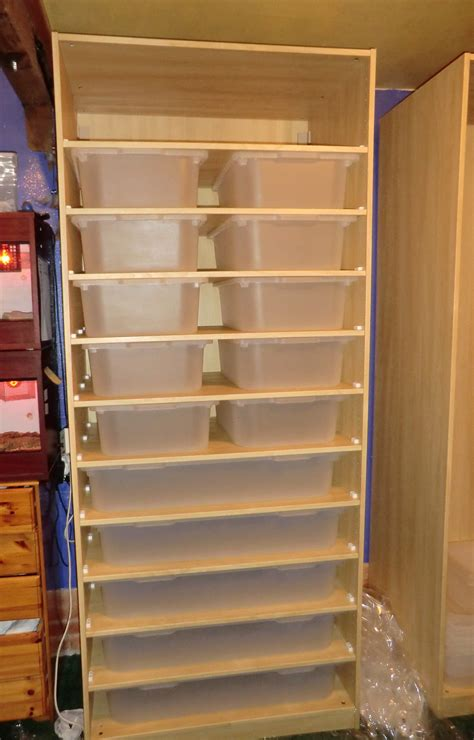 reptile rack system new snake rack built but need advice reptile forums