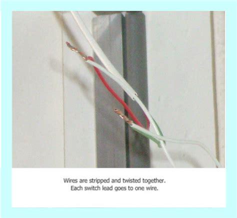 Installing Magnetic Door Switches Recessed Type