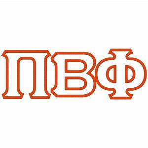 letter after pi levelings With pi beta phi letters