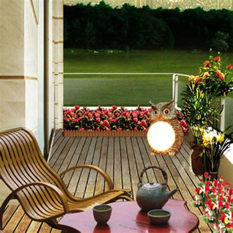 solar decorations outdoor buy solar powered owl led light outdoor garden decor