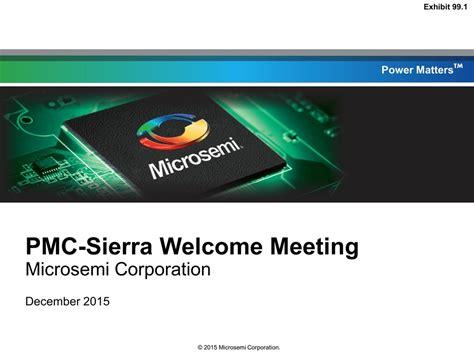Form 8-K PMC SIERRA INC For: Nov 30