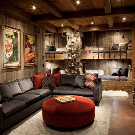 awesome man cave spaces watching big game family handyman