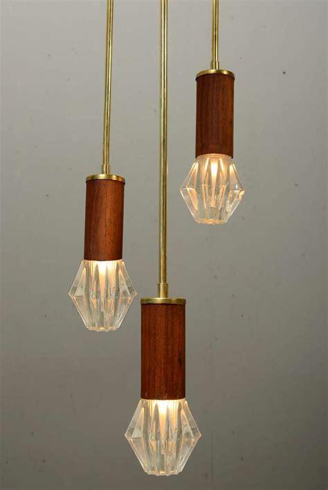 pair hanging mid century light fixtures at 1stdibs