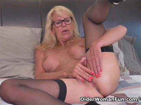 Blonde Milf Bianca Finger Fucks Her Mature Pussy Free Porn Videos Youporn