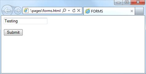 html form text boxes submit and reset buttons
