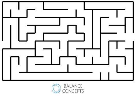 ProPoint Maze Wall Chart - Balance Concepts