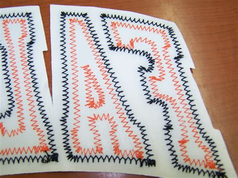 tackle twill lettering