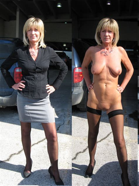 Sexy Milf Who Is Very Naughty Loves To Show Off In Public