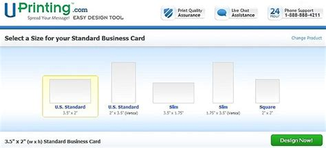 Uprinting's Easy Design Tool Abbyy Business Card Reader Mobile App Software Free Download For Windows 7 With Wechat Qr Code Itunes Ibm Notes Photo Vistaprint Size Cards On Paper Instead Of
