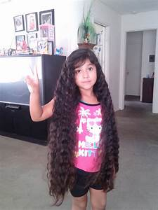 Rubi 6yrs old w the longest hair in the world part # 3 ...