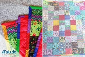 Patchworkdecke Selber Nähen : patchworkdecke n hen kostenlose diy anleitung ~ Lizthompson.info Haus und Dekorationen