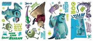 new monsters inc wall decals disney stickers kids bedroom With monsters inc wall decals for kids room