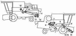 Combine Parts New Holland Belts Tr86 Tr87 Tr88