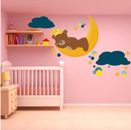 stickers chambre bébé nounours stickers nounours chambre bebe maison design bahbe com