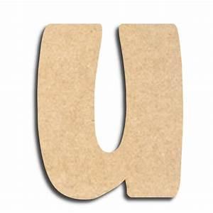 Lettre En Bois A Peindre : lettre en bois peindre u minuscule lettre bois ~ Dailycaller-alerts.com Idées de Décoration