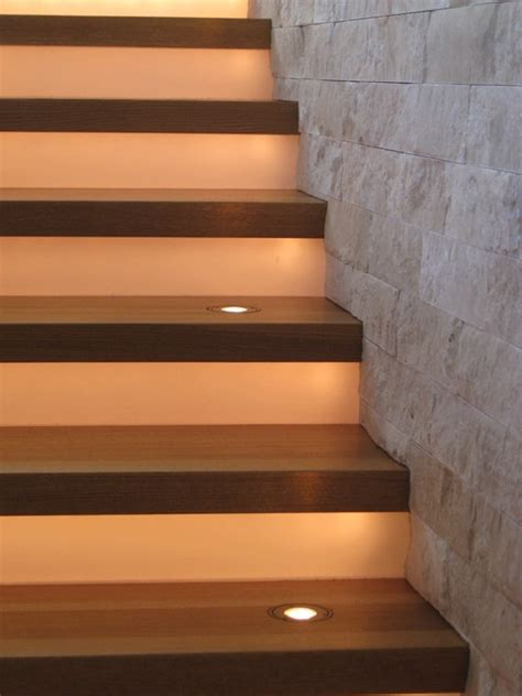 Modern Stair Lighting - Modern - Staircase - Denver - by