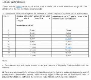 kv schools age criteria and admission schedule for the With college admissions calculator