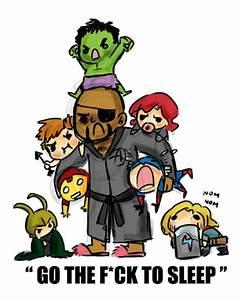 "Super Cute ""Avengers"" Fan Art   Sleep, Look at and I love"