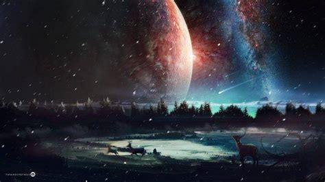 Digital Art, Artwork, Universe, Nature, Landscape, Fantasy