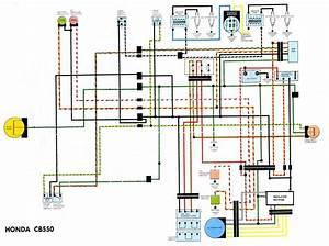 Cb550f Wiring Diagram