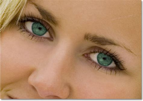 Mengubah Warna Mata Dalam Sebuah Gambar