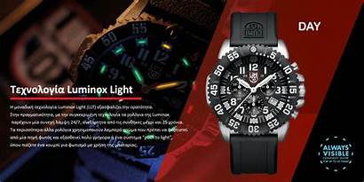 Luminox Chronograph Seal Navy Colormark Bracelet Band