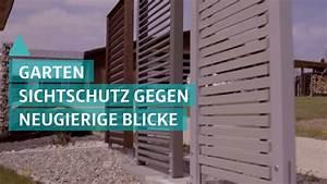 Sichtschutz Im Garten : garten tipp sichtschutz im garten youtube ~ A.2002-acura-tl-radio.info Haus und Dekorationen