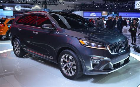 2019 Kia Sorento A Facelift, A Revised Cockpit, And A