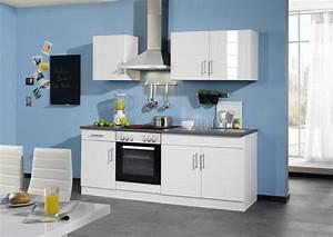 Küchenzeile Ohne Spüle : k chenzeile ohne k hlschrank 210 hochglanz wei k chen ~ Michelbontemps.com Haus und Dekorationen