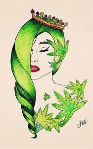 Gaga cannabis princess by Ritorumonsuta on DeviantArt