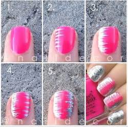 Easy step by nail tutorials for girls pretty designs