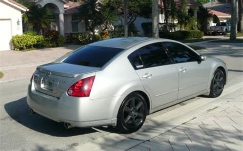 auto air conditioning service 2006 nissan maxima lane departure warning purchase used 2006 nissan maxima se 3 5 silver black performance upgrades up nice condition