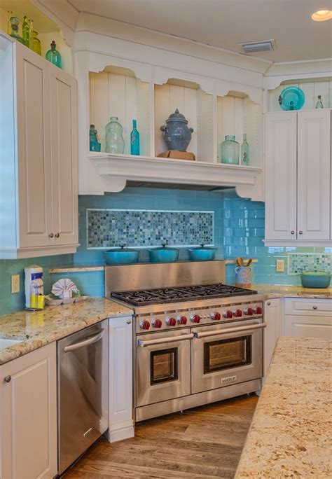 turquoise kitchen tiles the veranda gulf shores alabama house of turquoise 2970