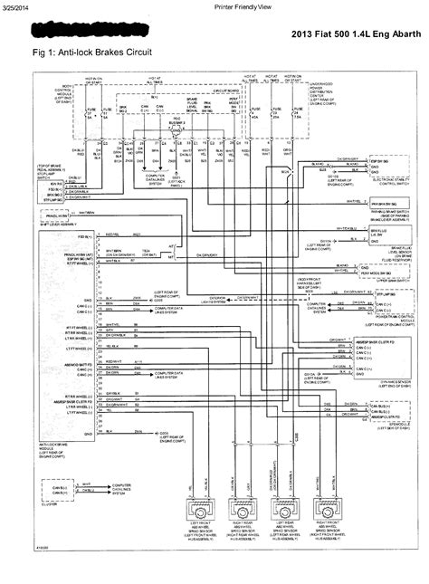 Fiat Wiring Diagram Auto Electrical
