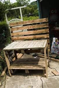 Paletten Möbel Garten : pflanztisch aus paletten garten pinterest ~ Markanthonyermac.com Haus und Dekorationen