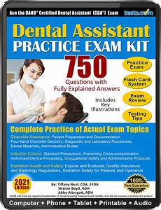 Practice Exam Kit For The Certified Dental Assistant  Cda