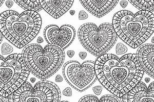 Decorative Heart Free Colouring Pattern - Hobbycraft Blog
