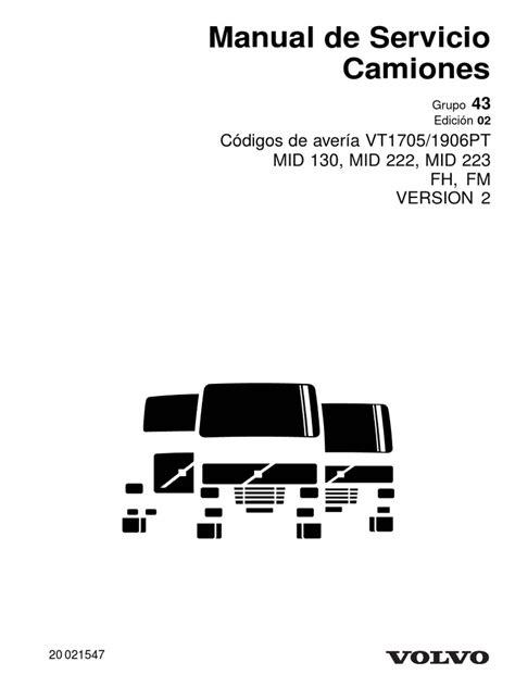 Mid 130-Mid 222-Mid 223-Edicion 2 | Transmisión (Mecánica