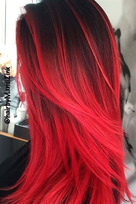 23 Beautiful Red Ombre Hair Hair Pinterest Hair