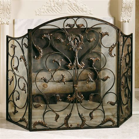 decorative fireplace screens ashville fireplace screen