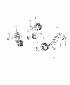 2018 Chrysler Pacifica Tensioner  Belt  Maintenance