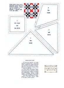Nine Patch Star Quilt Pattern