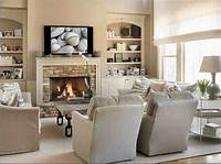 family room furniture 15 Living Room Furniture Layout Ideas with Fireplace to ...