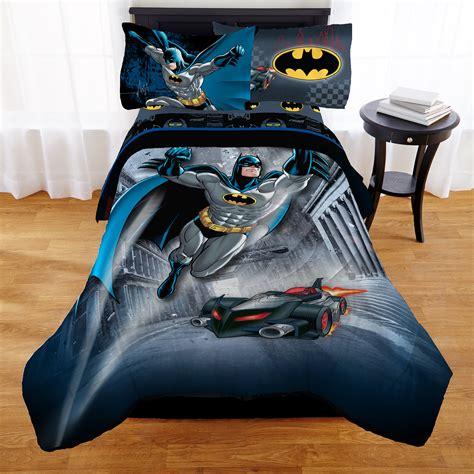 batman kids bedding bed in a bag full reversible comforter bedroom 73558731368 ebay