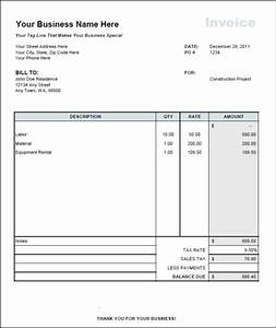 independent contractor invoice template invoice example With sample contractor invoice
