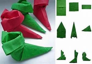 Servietten Falten Zu Weihnachten : stiefel aus papierservietten selber falten anleitung weihnachten servietten falten ~ Orissabook.com Haus und Dekorationen