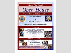 Sanger Fire & Police Department Open House 2014 The