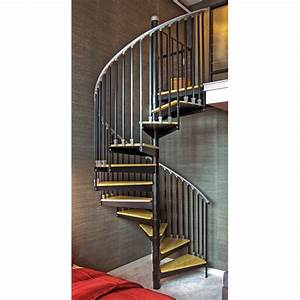 Shop The Iron Shop Ontario 60-in x 10 25-ft Black Spiral