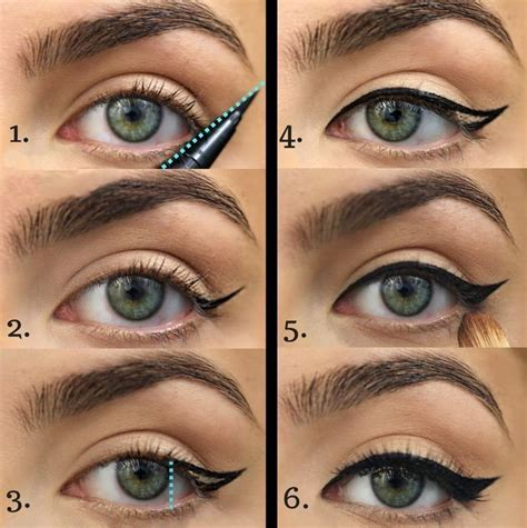 Как рисовать стрелки на глазах пошагово фото карандашом подводкой тенями фломастером. Какие стрелки подходят для глаз твоей формы.